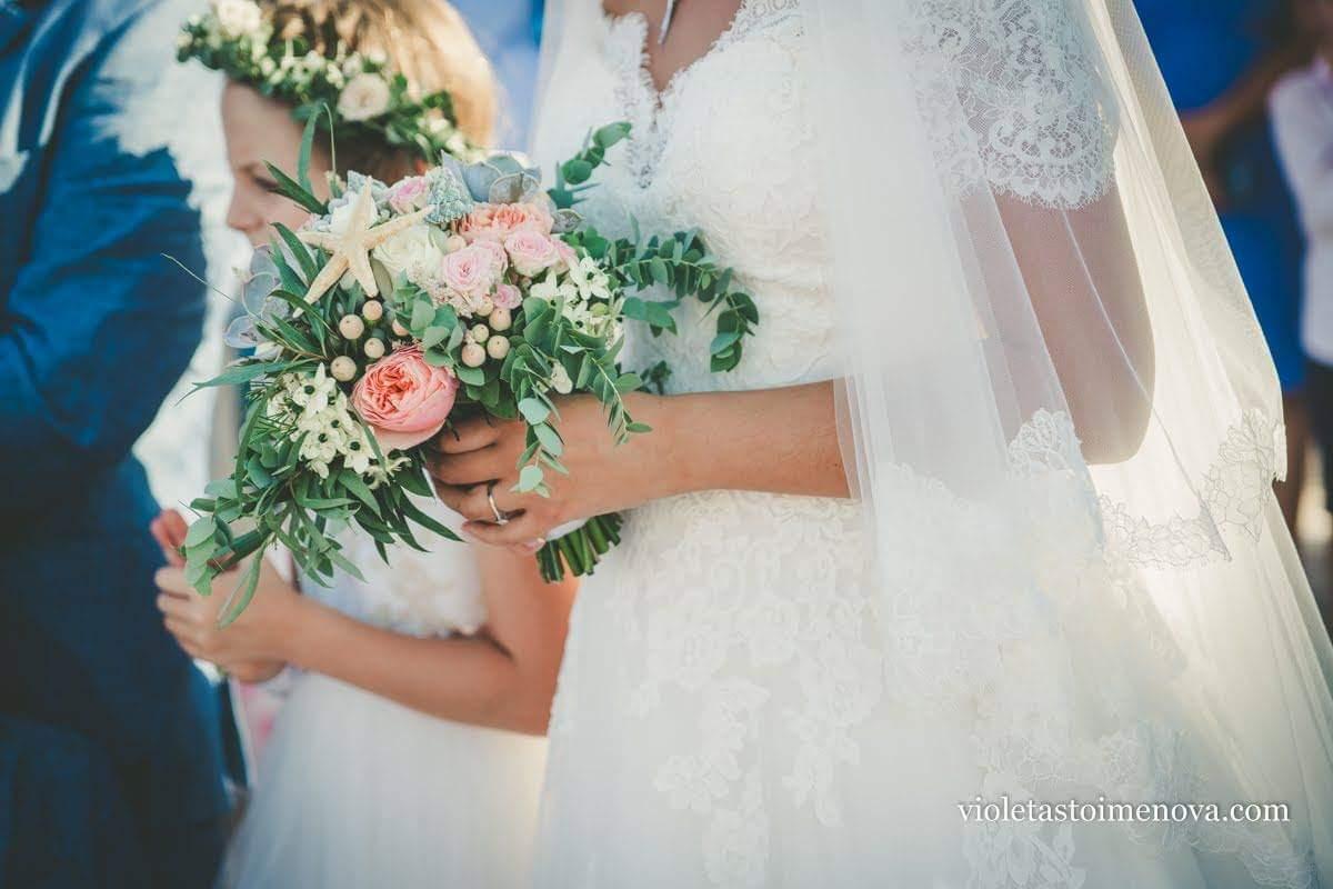 булчински-букет-морска-сватба
